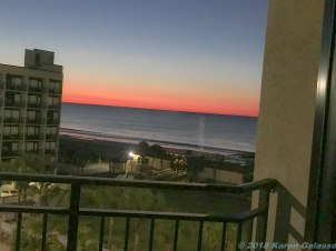 3 23 18 Sunrise in Myrtle Beach SC (1 of 4)