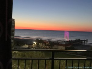 3 23 18 Sunrise in Myrtle Beach SC (2 of 4)