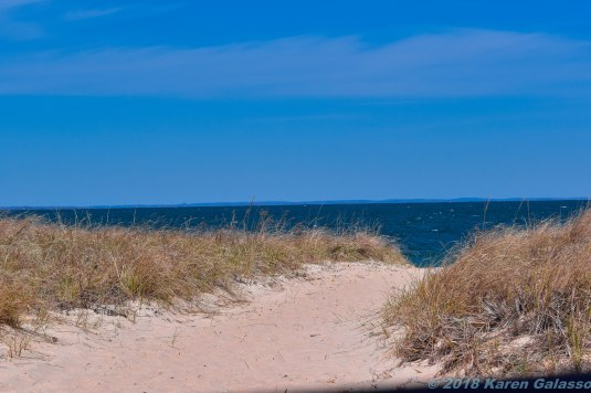 4 9 18 Day 2 Montauk NY unnamed beach area near the Inlet Seafood restaurant (1 of 19)