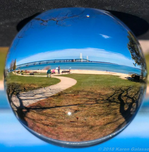 5 12 18 Mackinaw City Lensball Upside down-upside right (12 of 16)