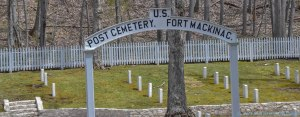 5 13 18 Mackinac Island MI Post Cemetary & Skull Cave (1 of 3)