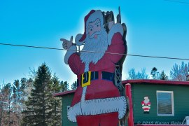 5 15 18 On the road from Petoskey MI to Marquette MI Passing through Christmas MI (2 of 3)