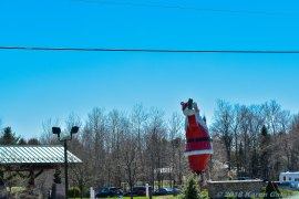 5 15 18 On the road from Petoskey MI to Marquette MI Passing through Christmas MI (3 of 3)