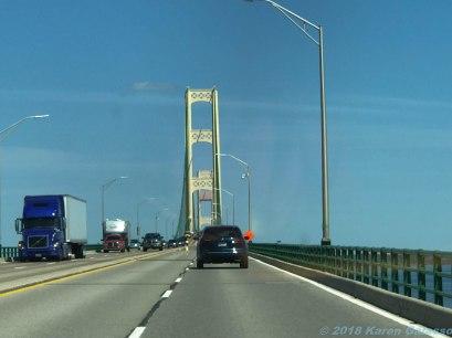 5 15 18 Petoskey MI to Marquette MI crossing the bridge (1 of 2)