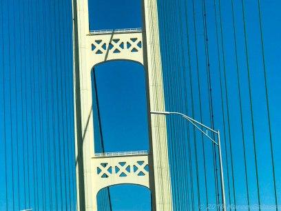 5 15 18 Petoskey MI to Marquette MI crossing the bridge (2 of 2)