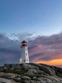 6 21 18 Peggy's Cove Light at sunset (66 of 78)