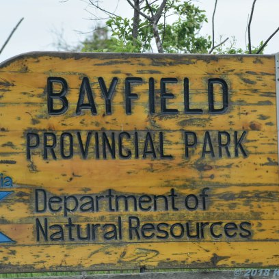 6 23 18 Bayfield Park...Bayfield Park Was looking for a lighthouse, never found it but the -boys- enjoying life...priceless (1 of 3)