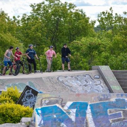 6 26 18 Riverfront Park, Honour Garden, Tidal Bore & Skate Park Moncton NB #3 (10 of 34)