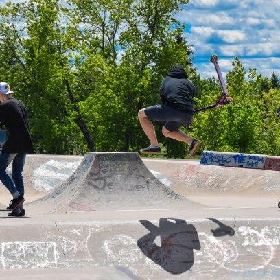 6 26 18 Riverfront Park, Honour Garden, Tidal Bore & Skate Park Moncton NB #3 (16 of 34)