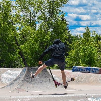 6 26 18 Riverfront Park, Honour Garden, Tidal Bore & Skate Park Moncton NB #3 (17 of 34)