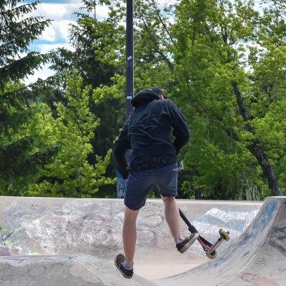 6 26 18 Riverfront Park, Honour Garden, Tidal Bore & Skate Park Moncton NB #3 (25 of 34)