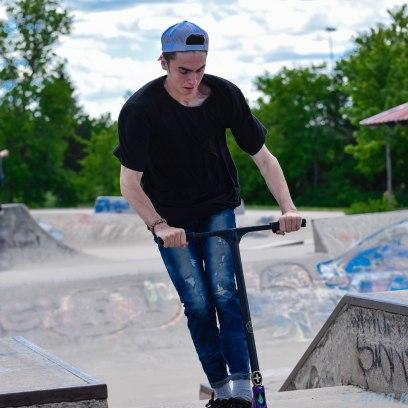 6 26 18 Riverfront Park, Honour Garden, Tidal Bore & Skate Park Moncton NB #3 (4 of 34)
