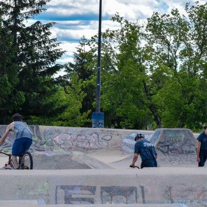 6 26 18 Riverfront Park, Honour Garden, Tidal Bore & Skate Park Moncton NB #3 (7 of 34)
