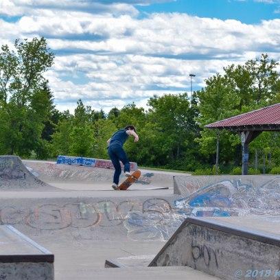 6 26 18 Riverfront Park, Honour Garden, Tidal Bore & Skate Park Moncton NB #3 (8 of 34)