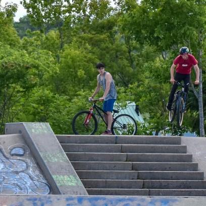 6 26 18 Riverfront Park, Honour Garden, Tidal Bore & Skate Park Moncton NB #3 (9 of 34)