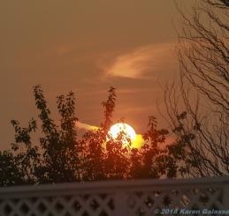8 15 18 Sunset Knapp's Landing Stratford CT (2 of 2)