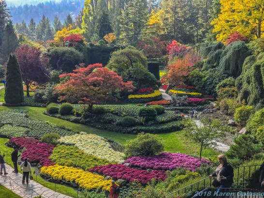 10 12 18 Sunken Garden at Butchart Gardens Vancouver Island BC Canada (1 of 6)