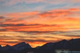 10 15 18 Sunset driving toward Calgary Canada (2 of 10)