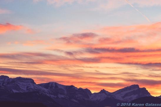 10 15 18 Sunset driving toward Calgary Canada (3 of 10)