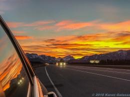 10 15 18 Sunset driving toward Calgary Canada (6 of 10)