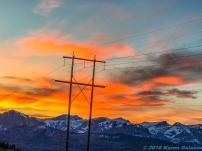 10 15 18 Sunset driving toward Calgary Canada (9 of 10)
