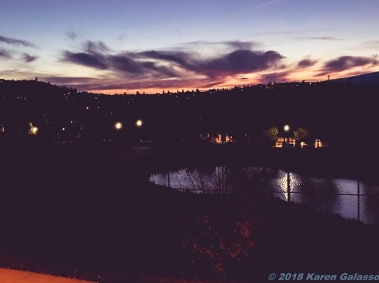10 15 18 Sunset Kelowna BC Canada (1 of 4)