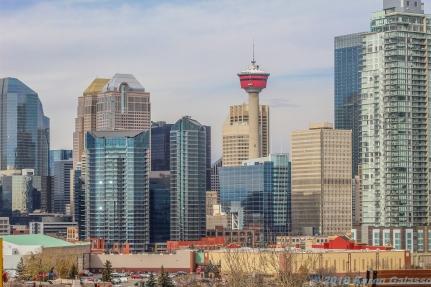 10 18 18 Calgary Skyline from Scotsman Hill Calgary Alberta Canada (3 of 9)