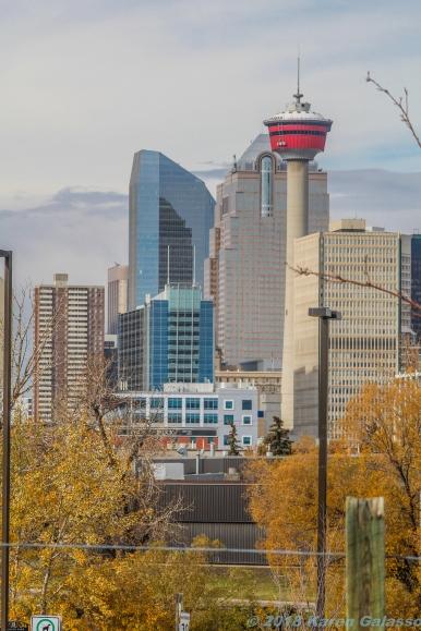 10 18 18 Calgary Skyline from Scotsman Hill Calgary Alberta Canada (4 of 9)