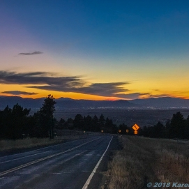 10 20 18 Sunset in Helena MT (1 of 1)
