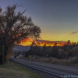 10 21 18 Shannon Lake sunset Helena MT (1 of 3)