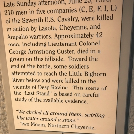 10 3 18 Custer National Battlefield-Custers Last Stand- Little Big Horn Crow Agency MT (2 of 16)