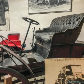 10 4 18 Mr PH visiting the Old Prison Museum & Antique Cars Deer Lodge MT (10 of 16)