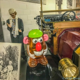 10 4 18 Mr PH visiting the Old Prison Museum & Antique Cars Deer Lodge MT (6 of 16)