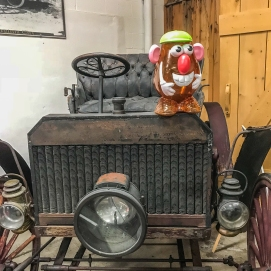 10 4 18 Mr PH visiting the Old Prison Museum & Antique Cars Deer Lodge MT (9 of 16)