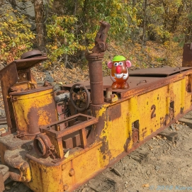 10 5 18 Mr PH visiting the Crystal Gold Mine Kellogg ID (1 of 7)