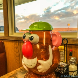 10 6 18 Mr PH enjoying some fries at Jake's Cafe in Ritzville WA (2 of 3)