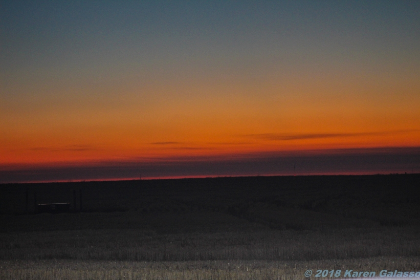 10 6 18 Sunset in Ritzville WA (1 of 3)