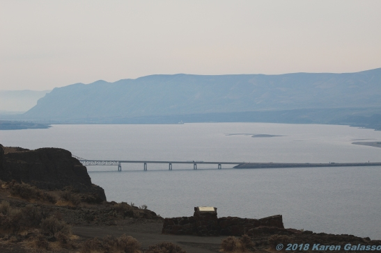 10 7 18 Columbia River & Vantage Bridge Vantage WA (1 of 8)