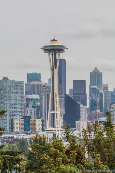 10 7 18 Seattle Space Needle & Skyline Seattle WA (1 of 3)