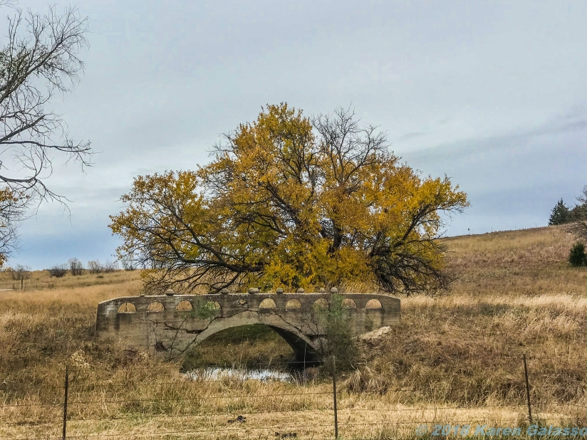 10 31 18 Abaandoned Bridge in the middle of nowhere Canton KS (1 of 1)