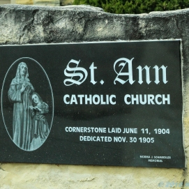 10 31 18 St Ann's Catholic Church Walker KS (2 of 2)