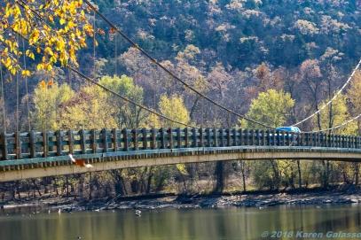 11 10 18 Little Golden Gate Bridge Beaver AR (1 of 5)