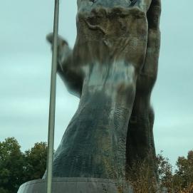 11 8 18 Praying Hands Oral Roberts University Tulsa OK (1 of 5)