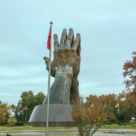 11 8 18 Praying Hands Oral Roberts University Tulsa OK (2 of 5)