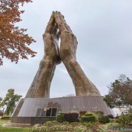 11 8 18 Praying Hands Oral Roberts University Tulsa OK (3 of 5)
