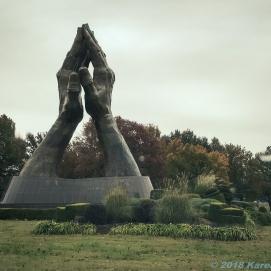 11 8 18 Praying Hands Oral Roberts University Tulsa OK (5 of 5)