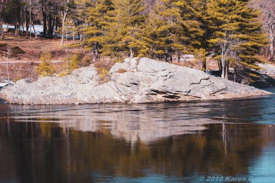 2 10 19 Androscoggin River at the Swinging Bridge Brunswick ME (1 of 15)