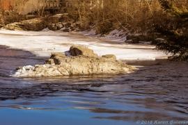 2 10 19 Androscoggin River at the Swinging Bridge Brunswick ME (3 of 15)