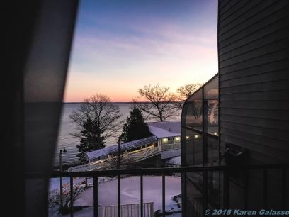 2 219 Sunset at the Atlantic Oceanside Bar Harbor ME (1 of 2) (2)