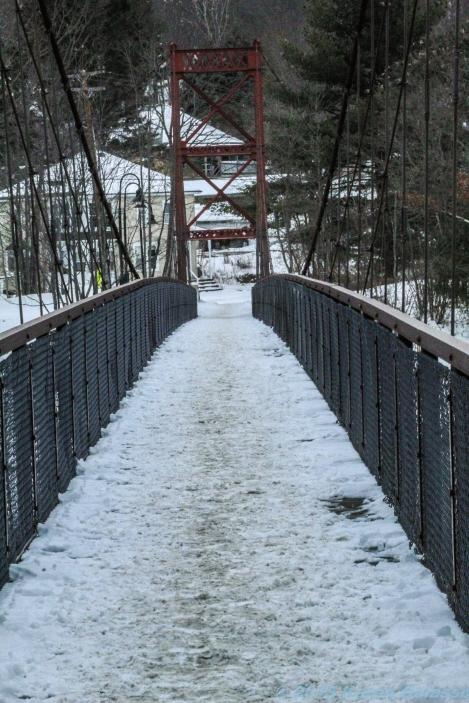 2 3 19 Swinging Bridge over the Androscoggin River Brunswick ME (1 of 9)